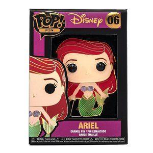 ✨ NWT Ariel Funko Pop Pin   Disney